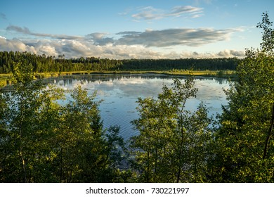 Finland's national park - lake