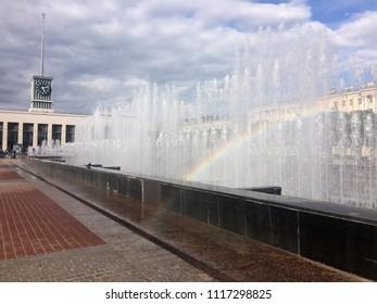 Finlyandsky Terminal. Saint Petersburg
