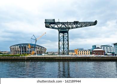 The Finnieston crane - Glasgow - Scotland