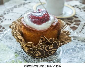 Finnish Runeberg day pastry