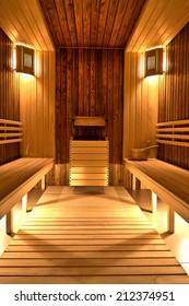 Finnish sauna in a SPA Centre
