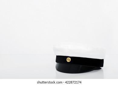 finnish student cap, ylioppilaslakki with white background