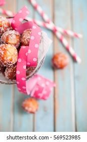 Finnish sugar donuts for Vappu celebration