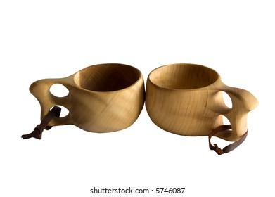 Finnish Tea Cups - Pair