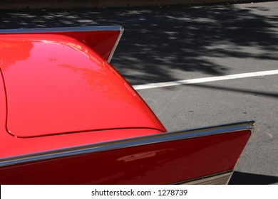 Fins of a '57 Chevy