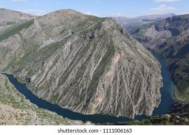 Firat River. Malatya Turkey