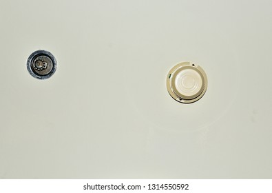Smoke Detector On Ceiling Stock Photo Edit Now 545065756