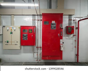 Fire alarm control panel for fire suppression system