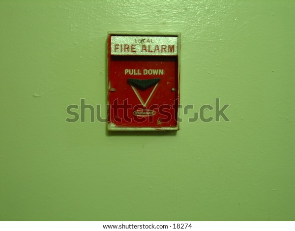 fire alarm pull down switch