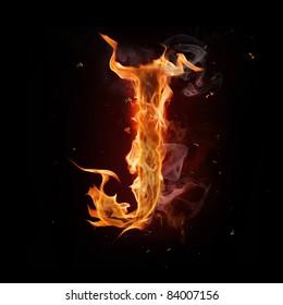 Fire alphabet images stock photos vectors shutterstock fire alphabet letter altavistaventures Gallery