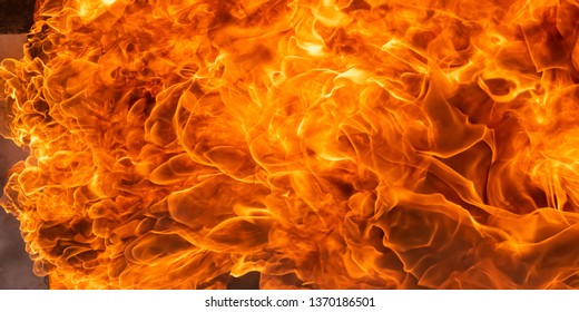 Fire background and texture