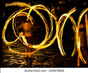 """Fire Ball Spin, In"""" Kandy Esala Perahera"""" The Festival of the Tooth is a grand ,Buddhist, festival celebrated with elegant costumes and is held in July and August in Kandy, Sri Lanka."""
