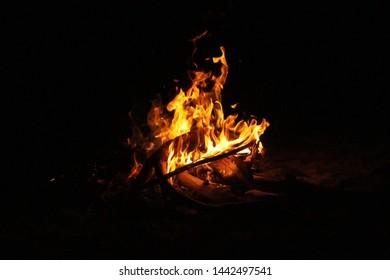 Fire Burn in The Dark Side