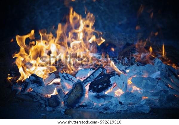 Fire Burning Fire Fire Wallpaper Fire Stock Photo Edit Now 592619510