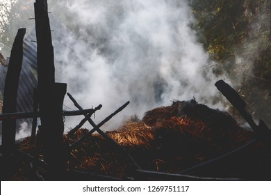 Fire burning,Smoke,fire, smoke, wild, background, burning