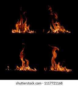 fire collection in black