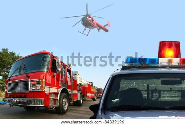 Fire department response