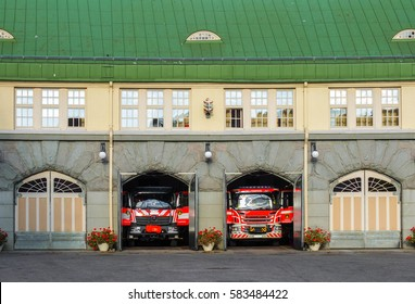 Fire department in Tampere, Finland