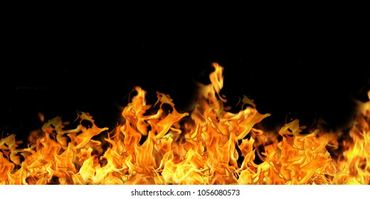 Fire Effect Background
