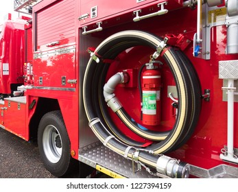 Fire engine car pump car