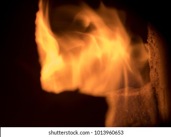fire evanescence in wooden stove