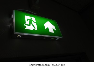 Fire exit.