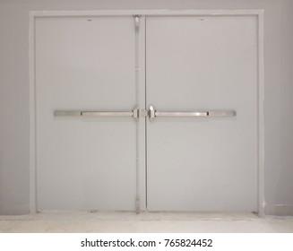 Fire exit door or emergency door