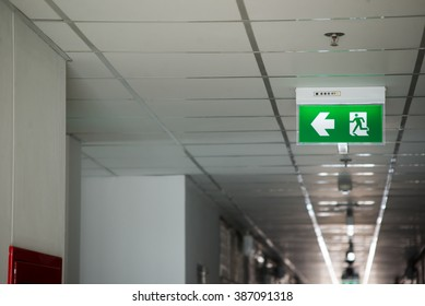 An Fire exit way concept .