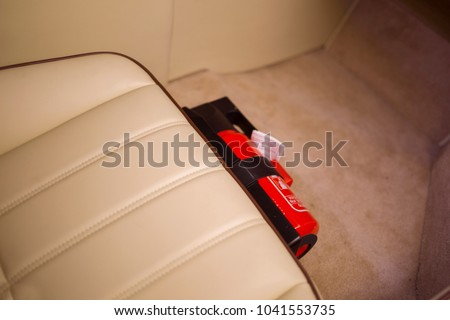 Fire extinguisher in the