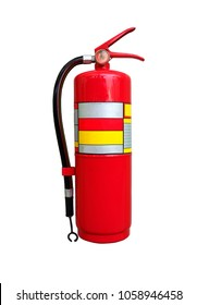 Fire extinguisher isolated on white background. (whit clipping path)