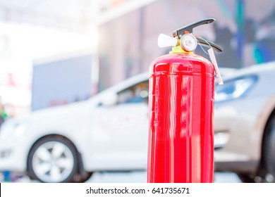 fire extinguisher, safety first concept