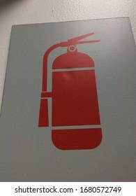 Fire extinguisher symbol safe Protect