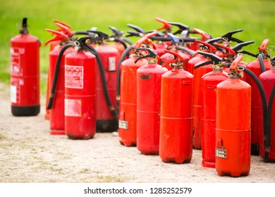 fire extinguishers recollection for calibration and repair or restitution