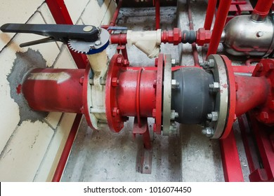 fire fighter pipe valve system