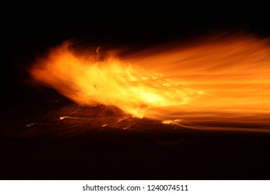 Fire flame abstract art texture background, passion ,energy, mystic, emotions, spiritual concept