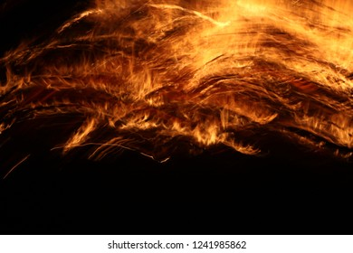 Fire flame abstract art texture background, passion ,energy, mystic, spiritual concept