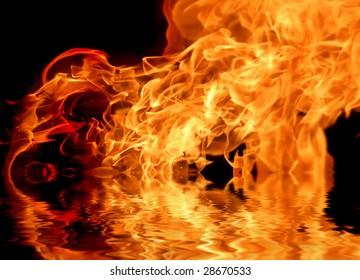 Fire flame v. 14