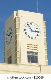 Fire house clock