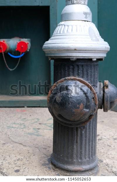 Fire Hydrant Called Fireplug Fire Pump Stock Photo (Edit Now) 1145052653