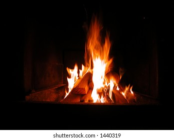 Fire to keep warm