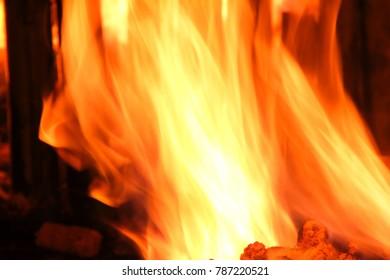fire light heat