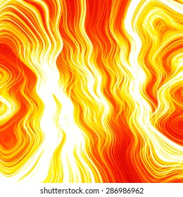 Fire line grid abstract fractal illustration background. Colorful light effects