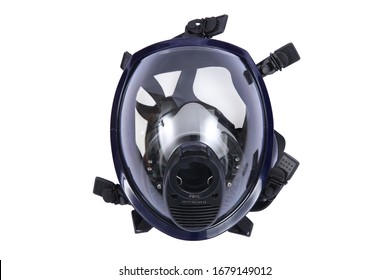 Fire mask  on white background
