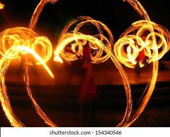 Fire patterns celebration