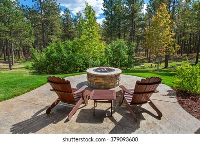 Fire Pit with a view
