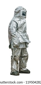 Fire protection suit - protects a fireman from high temperatures, especially near fires of extreme temperature