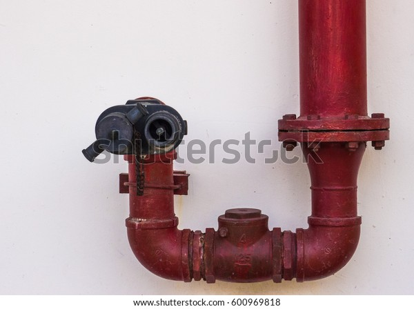 fire red pressure water pipe