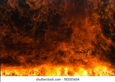 Fire and rescue training school regularly to get ready, Burning fire flame background