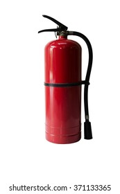 Fire safety isolate whit background