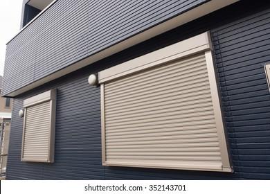 Fire shutter of housing
